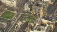 Aerial views of Westminster