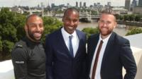 British Transport Police officers PC Leon McLeod and PC Wayne Marques, and Metropolitan Police officer PC Charles Guenigault