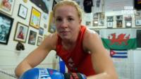 Welsh boxer Rosie Eccles is preparing for her first World Championships