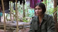Female member of Farc