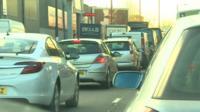 Traffic on the Tyburn Road, Birmingham