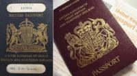 Passports old and new