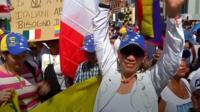 Venezuela protester