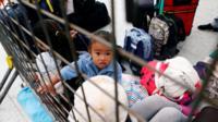 Venezuelan migrants queue to register their entry into Ecuador at Rumichaca, Ecuador, August 18, 2018