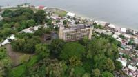Hotel Ducor from above