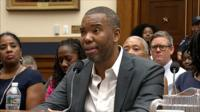 The House Judiciary Committee heard testimony on whether descendants from slaves should be paid compensation.