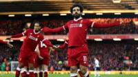Liverpool forward Mohamed Salah has inspired a new chant among the Liverpool faithful.