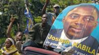 Kabila supporters