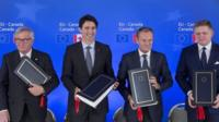 EU-Canada trade agreement is signed