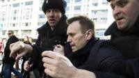 Арест Алексея Навального