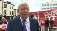 Alan Johnson in Merthyr Tydfil