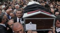 Funeral in Ankara