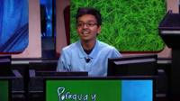 The winner of the National Geographic Bee