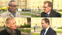 Stewart Hosie, David Mundell, Sir Malcolm Bruce and Ian Murray