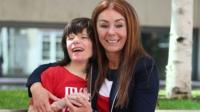 Charlotte Caldwell, the mother of Billy Caldwell