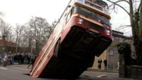 Norwich, where a bus was swallowed by the ground in 1988, has seen many sinkholes over the years.