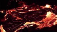 Река лавы из вулкана Килауэа
