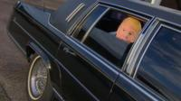 Donald Trump's former limo