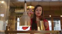 Isabel Hardman making chocolate
