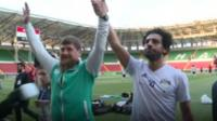 Chechen leader, Ramzan Kadyrov, has hit back at claims he used footballing star Mo Salah for political propaganda.