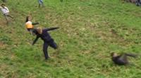 Cheese Rolling competitors