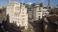 BBC's New Broadcasting House