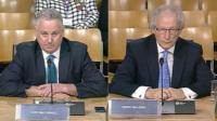 Lord McConnell and Henry McLeish
