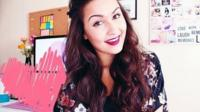 Maroua, beauty blogger in France