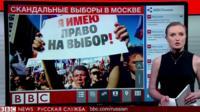 Скандальные выборы в Москве