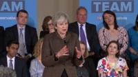 Theresa May BBC