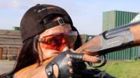 Stuntwoman Amanda Foster