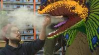 Some of the dinosaurs breathe smoke.