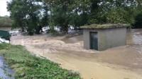 Flash floods hit south-west France's Aude on 14 October 2018
