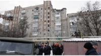 Дом, в котором произошел взрыв