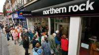 Northern Rock branch and queues
