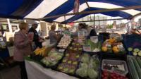 Stockton market stall