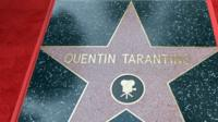 Quentin Tarantino's walk of fame star