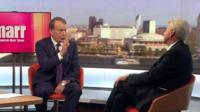 Andrew Marr and John McDonnell.