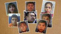 Фотографии подозреваемых и их жертвы