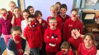 red nose boycott school.