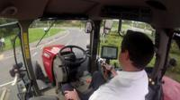 Driverless tractor