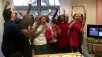 choir celebrates
