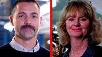 Patrick Grant and Jenny Holloway