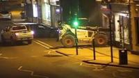 Cash machine raid