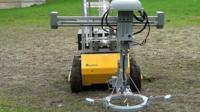 Landmine detecting rover