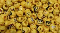 Lego figure head
