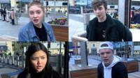 The young people learning about the pub bombings