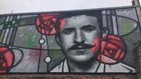 Charles Rennie Mackintosh mural