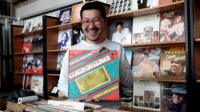 "Batbold ""Boldoo"" Bavuu - record shop owner in Ulan Bator"
