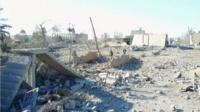 Линия фронта в Сирии